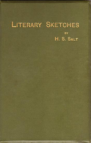 Literary Sketches - Henry S. Salt