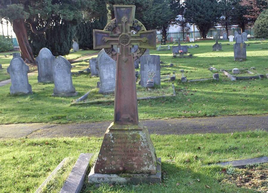 Thomas Henry Salt's grave